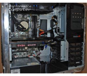 hp blackbird 002 inside