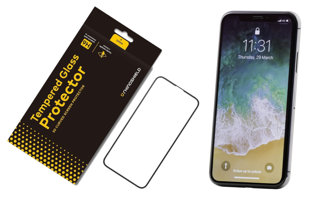 RhinoShield Tempered Glass Screen Protector for iPhone X Review