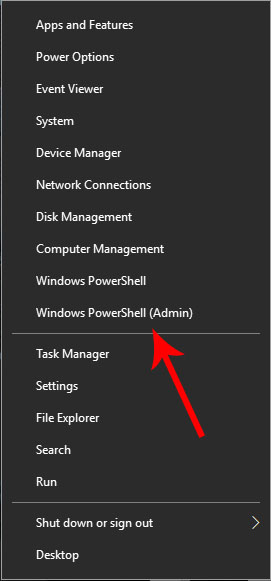 windows 10 powershell shortcut