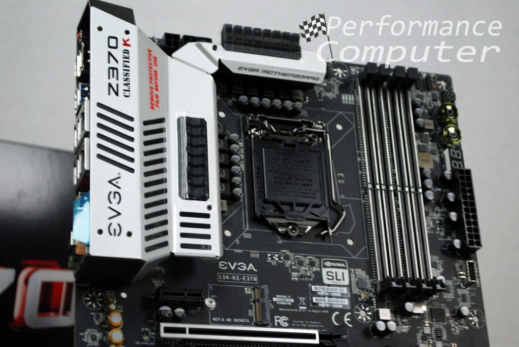 evga z370 classified k vrm heatsink