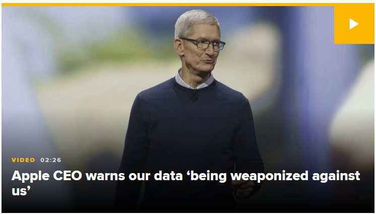 apple ceo tim cook data privacy