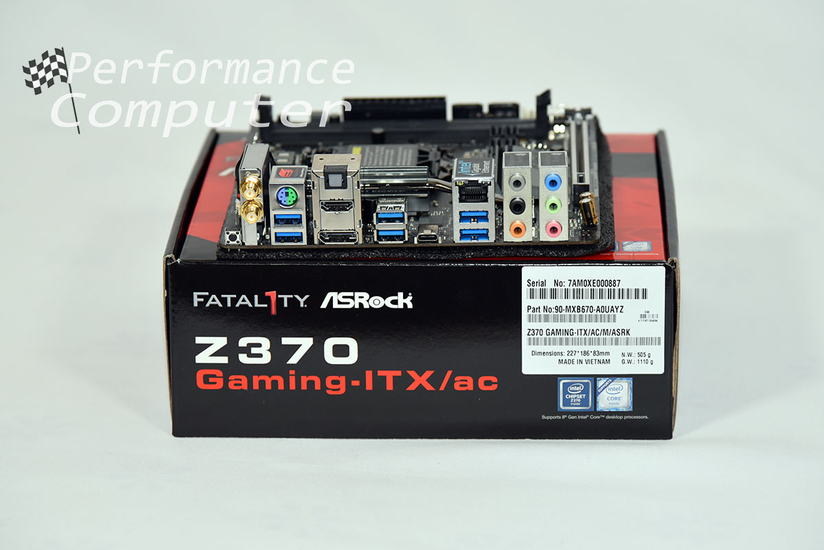 asrock fatal1ty z370 gaming itx ac rear io