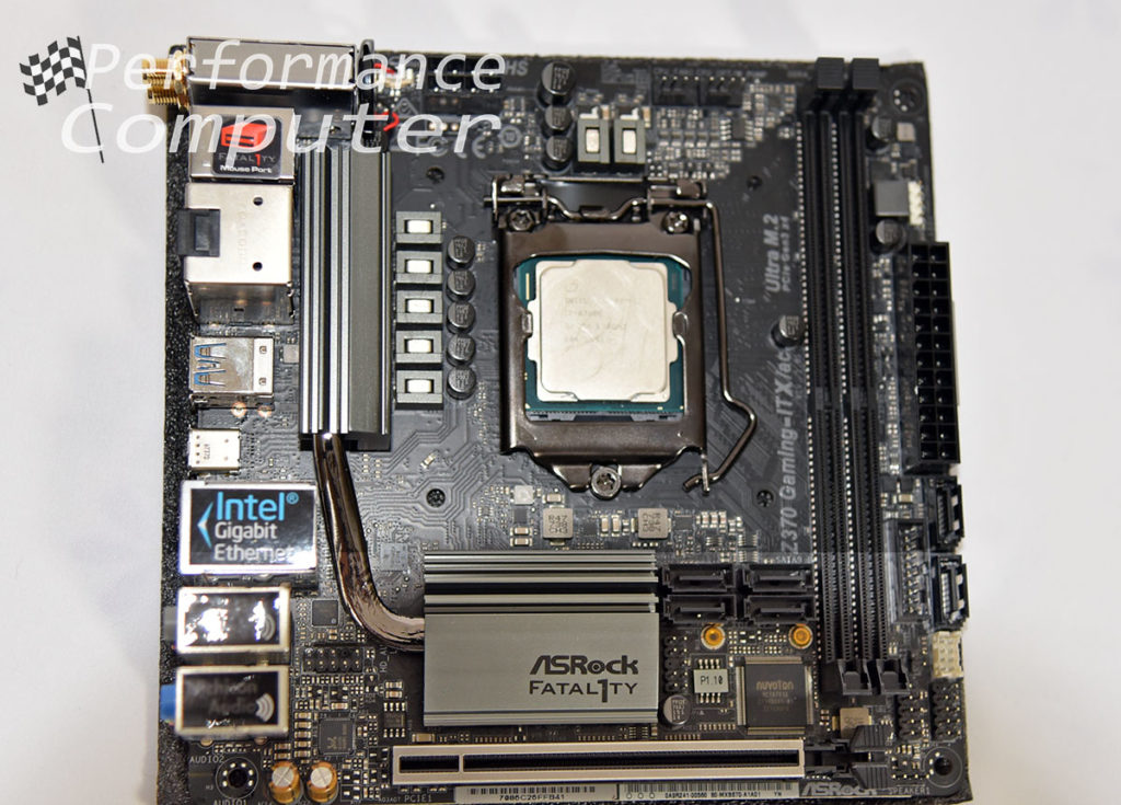 asrock fatal1ty z370 itx intel core i7 8700k