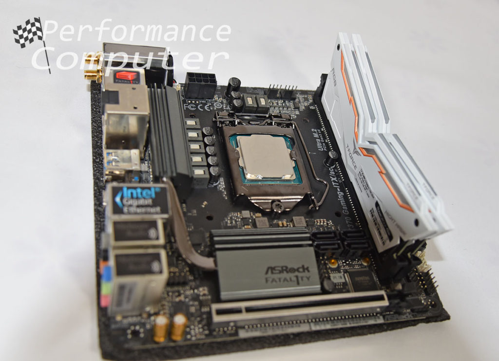 asrock fatal1ty z370 itx team group night hawk rgb ram