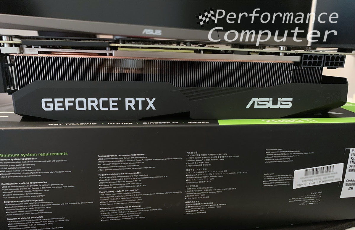 ASUS GeForce RTX 2080 Ti Dual OC Graphics Card Review