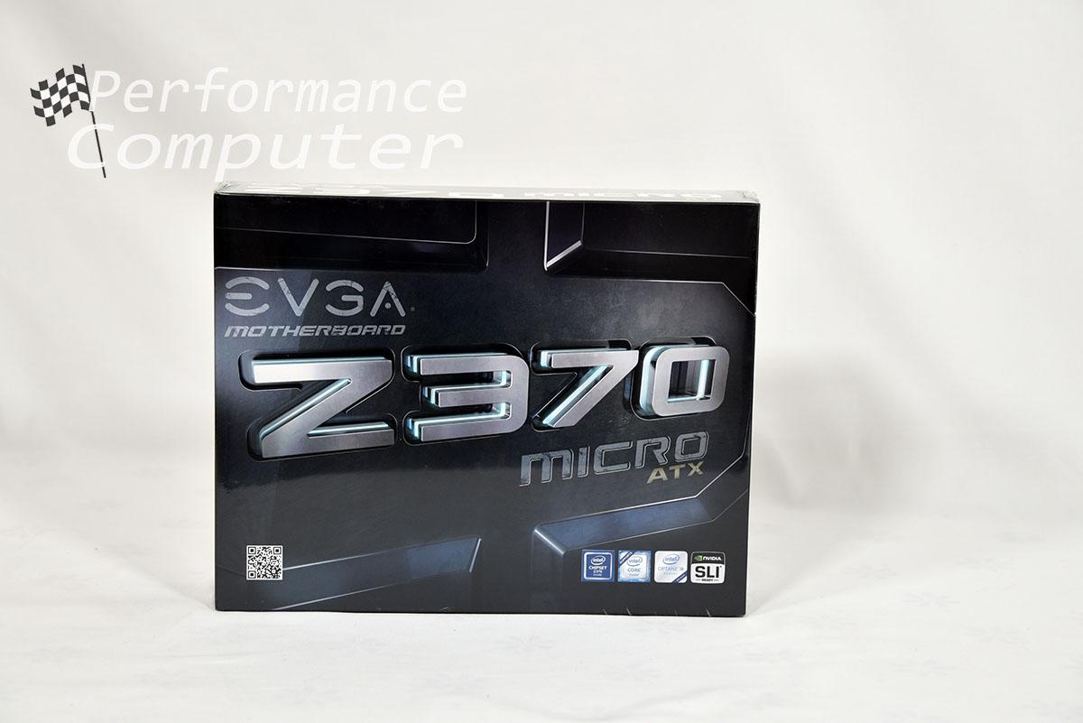 evga z370 micro atx unboxing