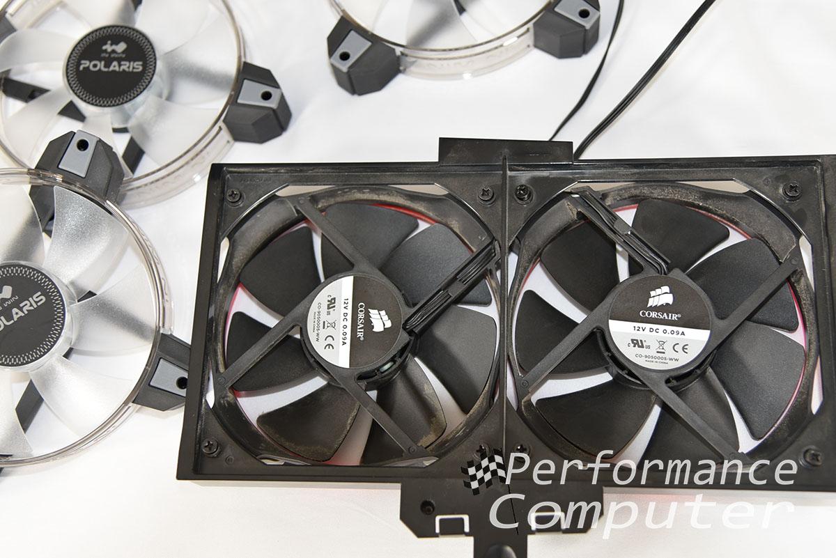 hp blackbird how to upgrade fan
