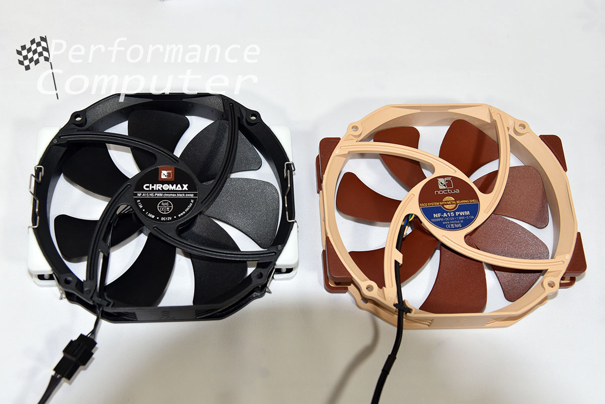 noctua nf a15 pwm brown black chromax fans