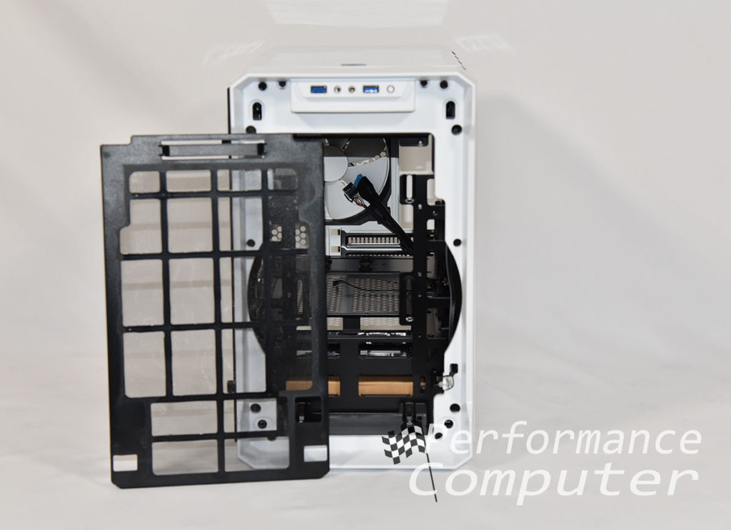 phanteks evolv itx dust filter