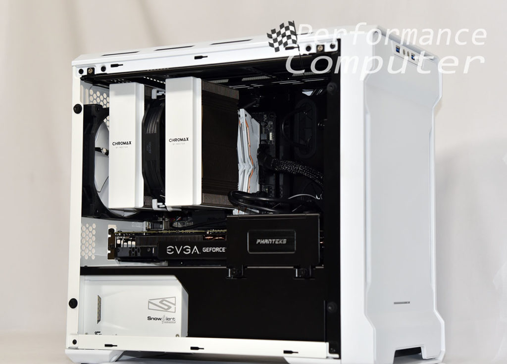 phanteks evolv itx tempered glass