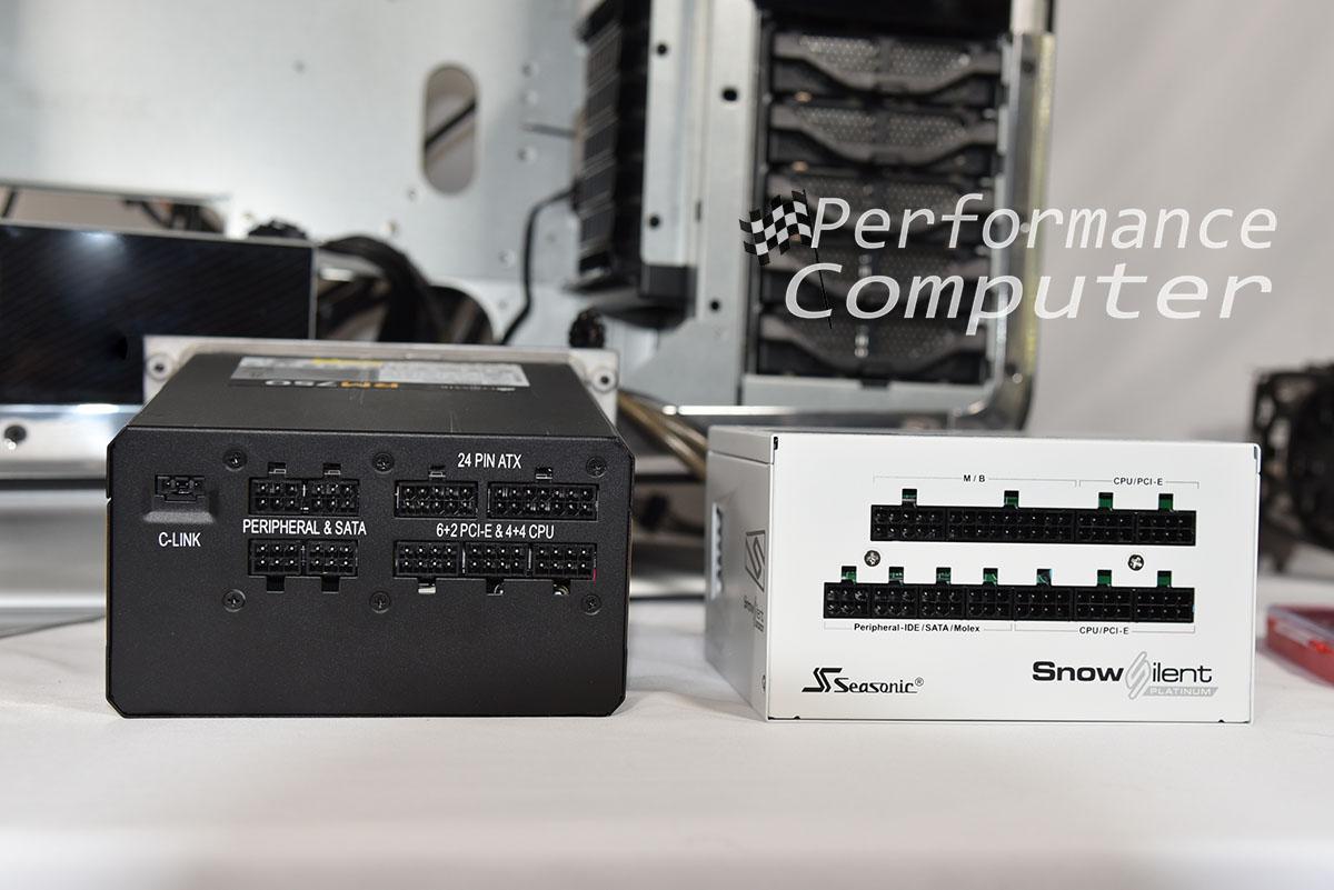 seasonic prime snow silent vs corsair power supply