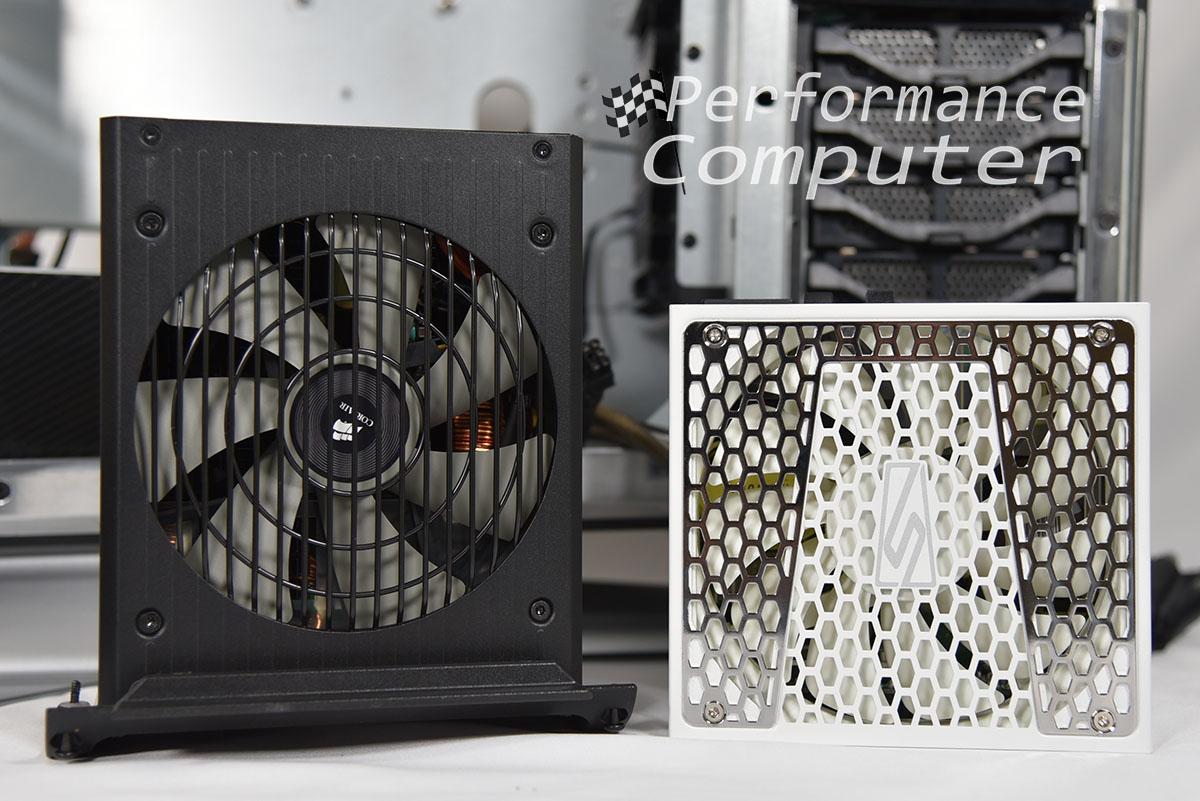 seasonic prime snow silent vs corsair rm power supply