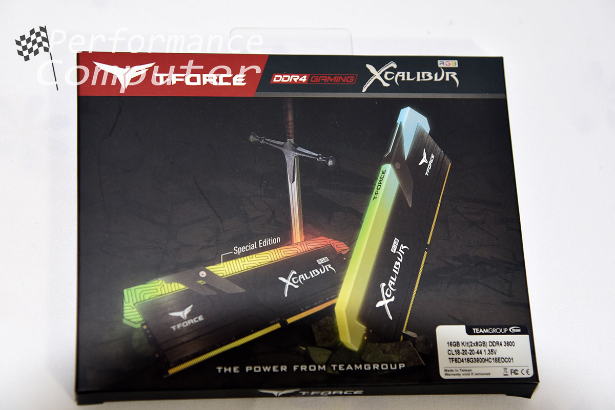 team group t-force xcalibur rgb ram box