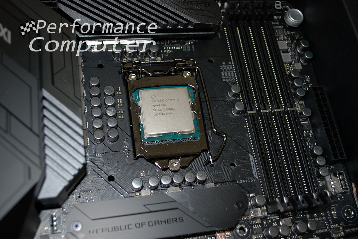 asus maximus hero xi core i9 9900k