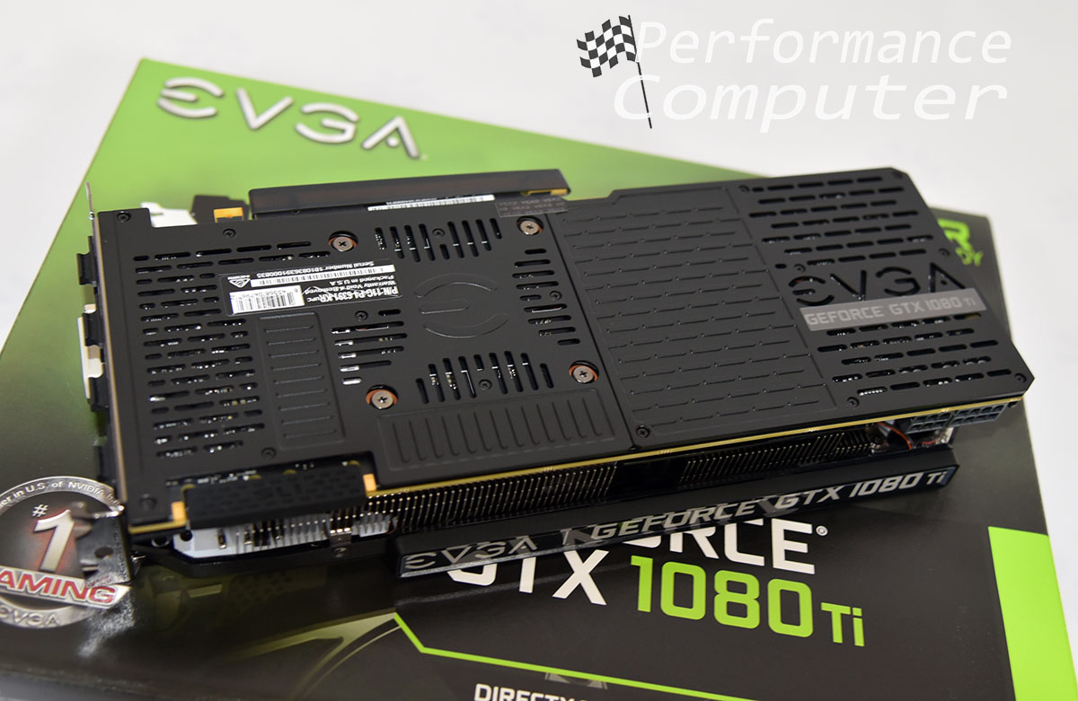 evga gtx 1080 ti black edition backplate