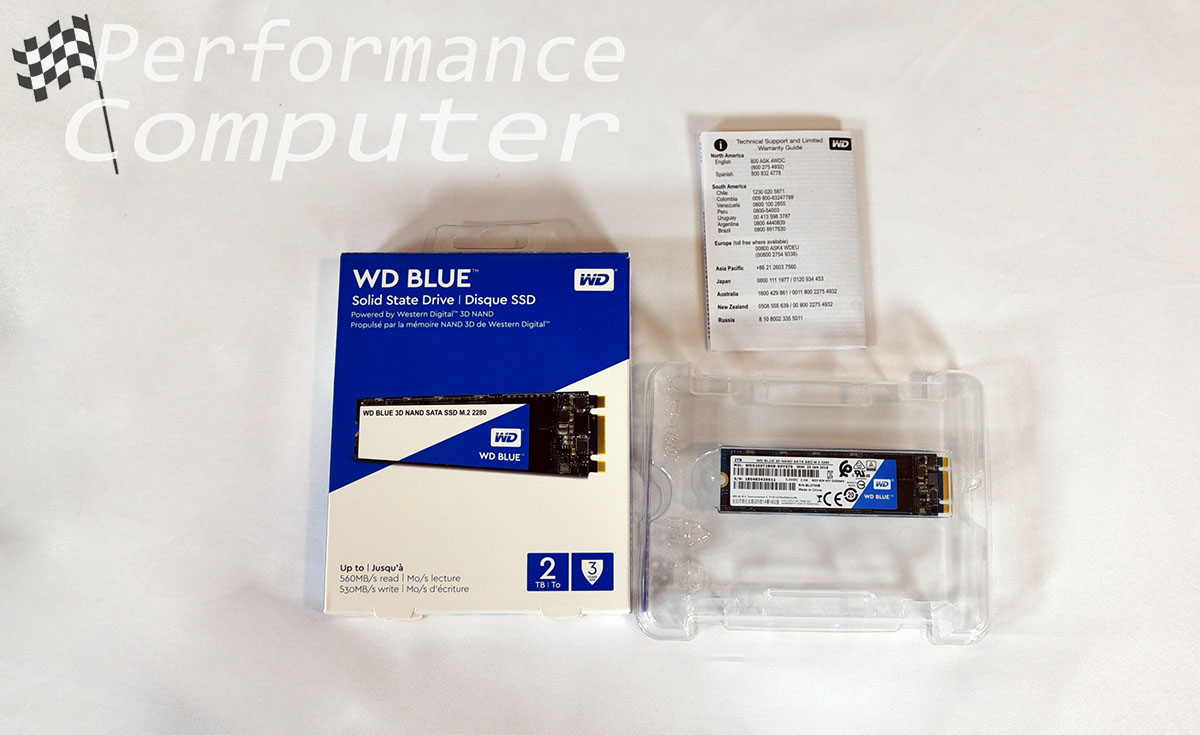 Western Digital WD Blue 2TB M 2 SATA SSD Review: Well