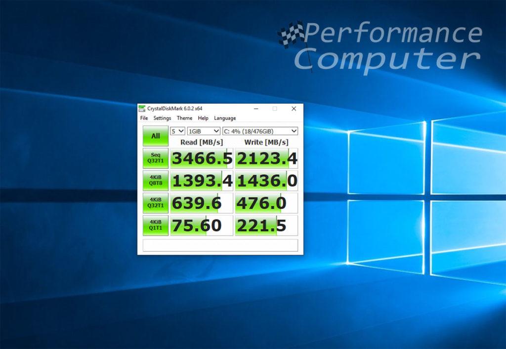 xpg gammix s11 pro benchmark