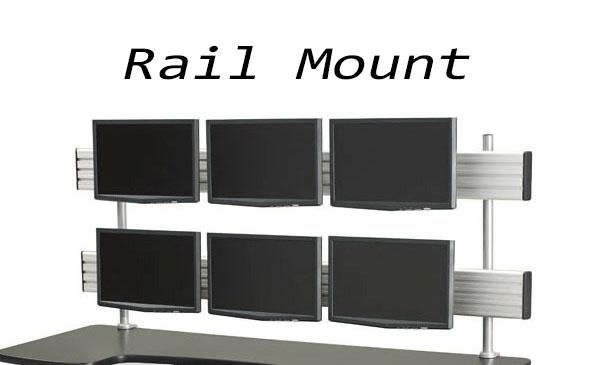 monitor rail mount