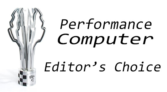 performance computer editors choice award