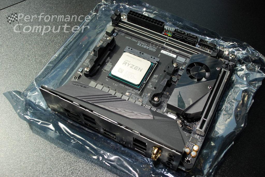 gigabyte x570 i aorus pro wifi itx am4 motherboard