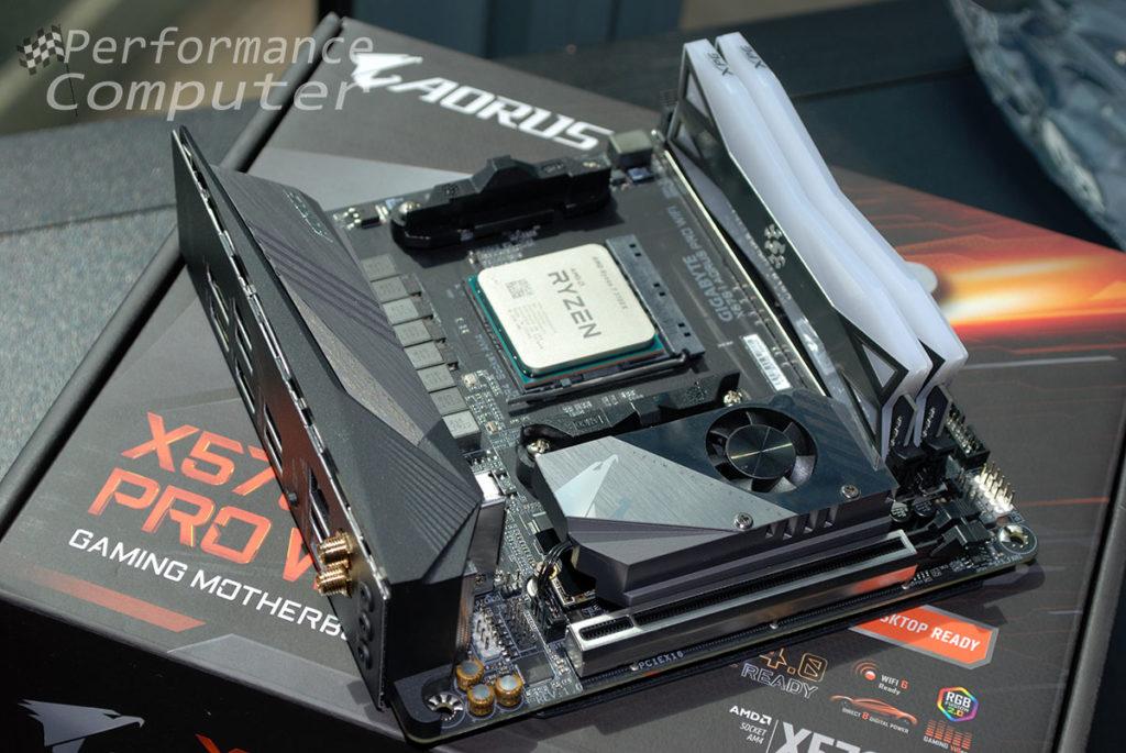 gigabyte x570 i aorus pro wifi ryzen 3700x