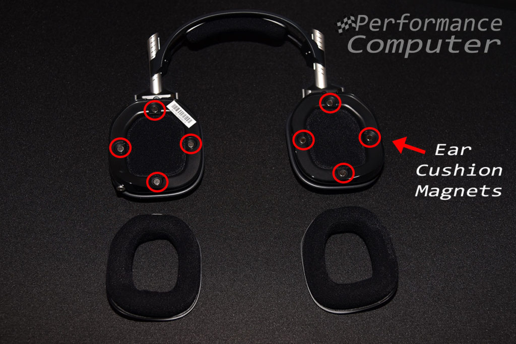 astro a40 tr ear cushion magnets