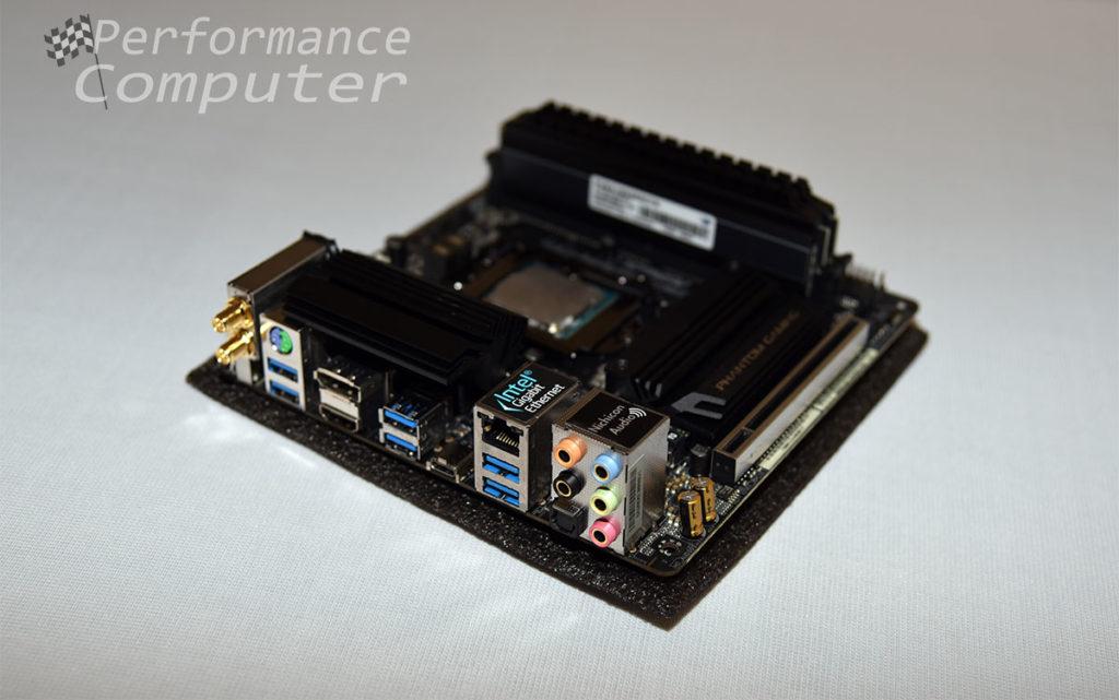 asrock z390 phantom gaming itx ac rear ports
