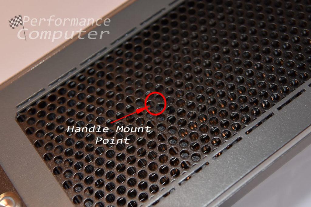 sliger sm580 handle installation