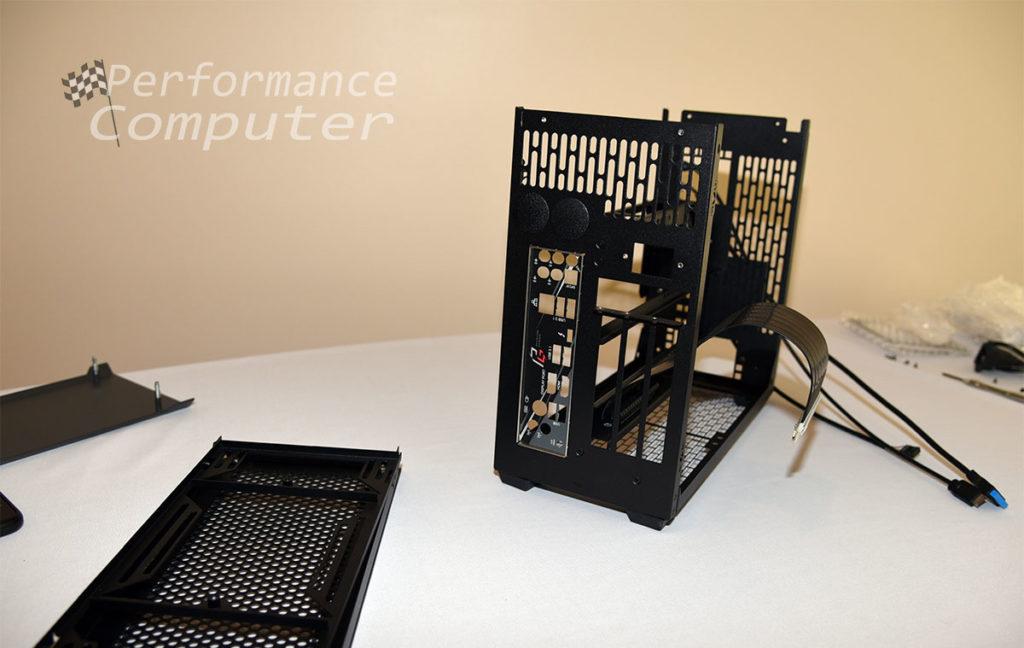 sliger sm580 motherboard io shield installation