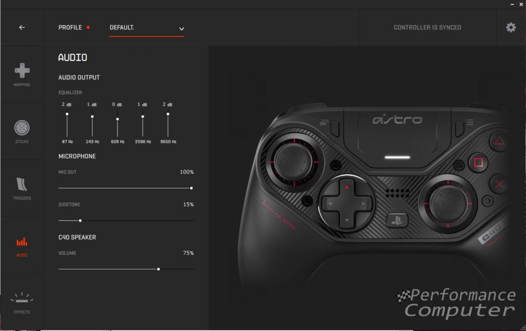 astro c40 controller software