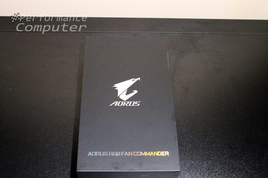 gigabyte x570 aorus xtreme motherboard aorus rgb fan commander box
