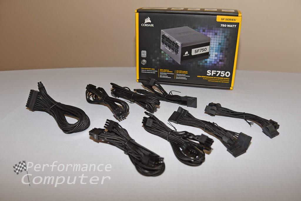 corsair sf750 cables