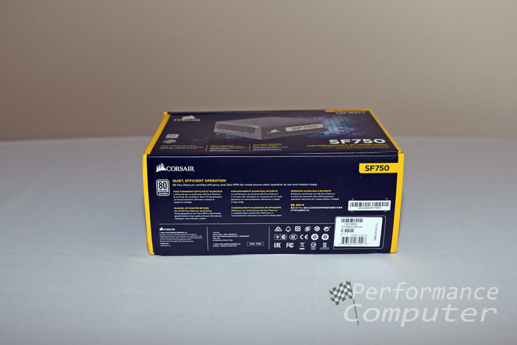 corsair sf750 box bottom