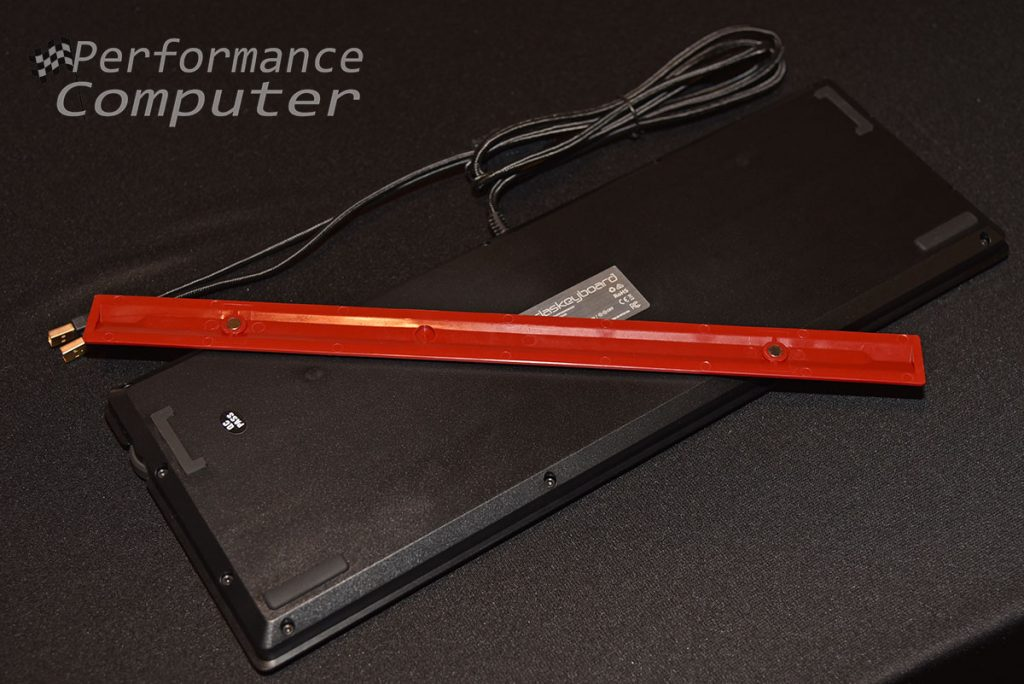 das keyboard 4q footbar ruler