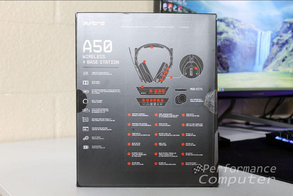astro a50 box back
