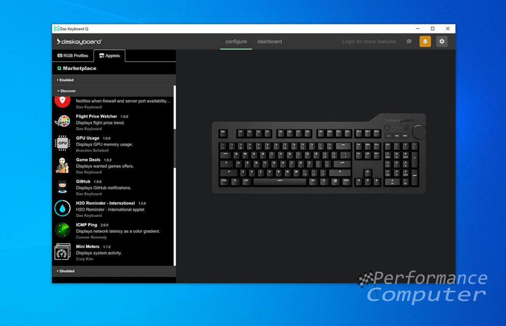 das keyboard q software