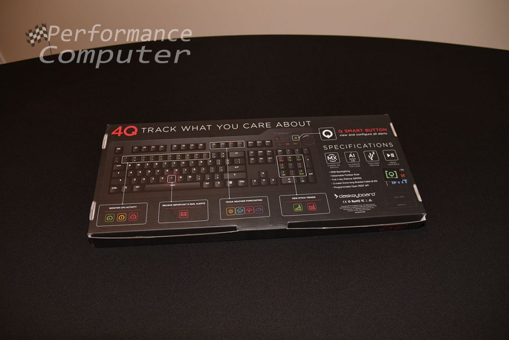 das keyboard 4q box back
