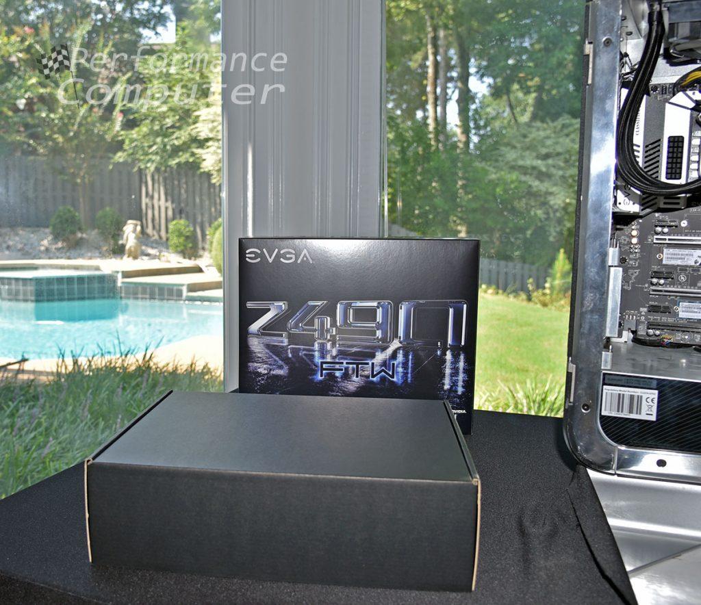 evga z490 ftw motherboard unboxing