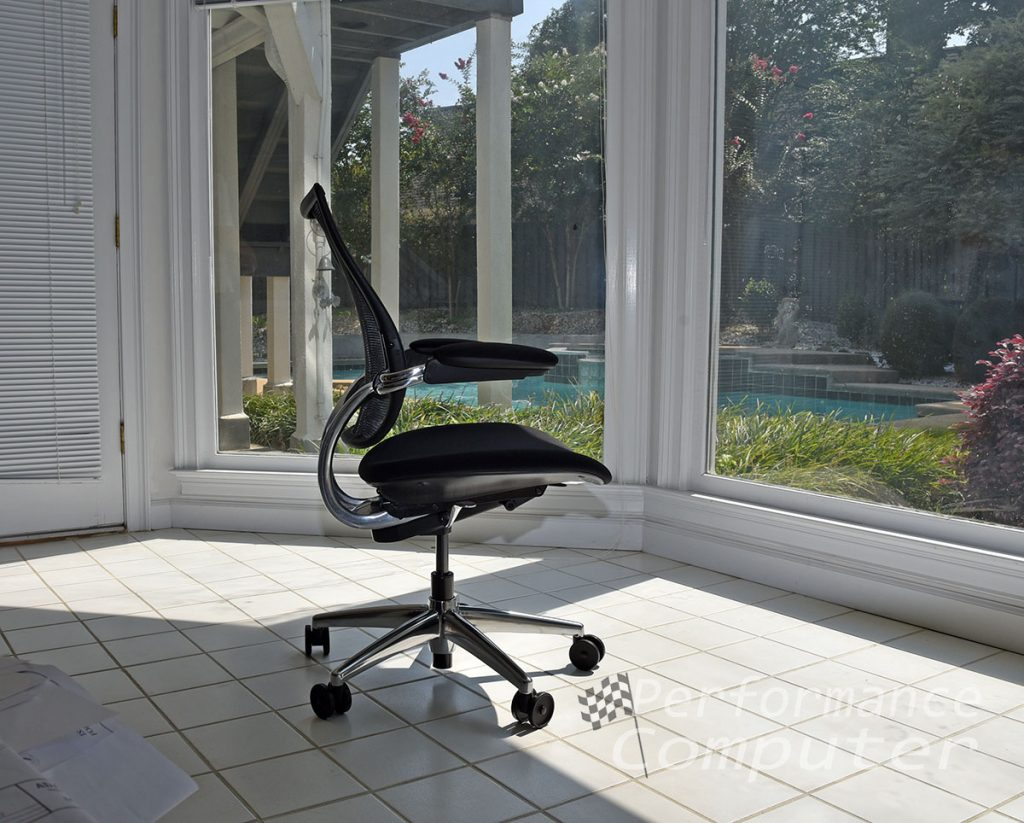 humanscale liberty task chair adjustable duron arms with textile