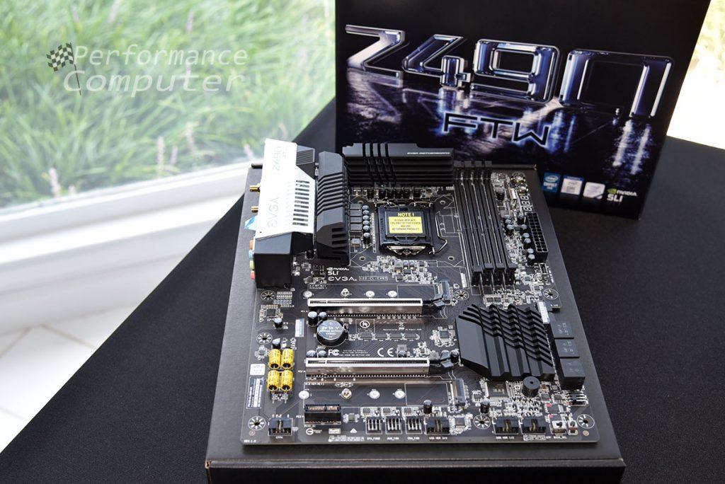 evga z490 ftw motherboard