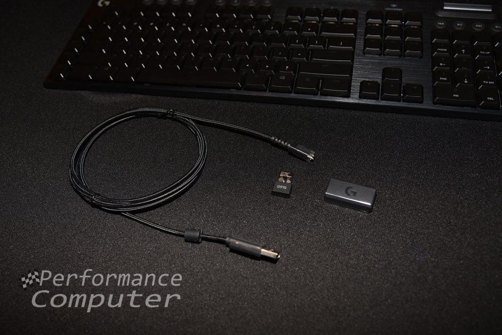 logitech g915 usb cable