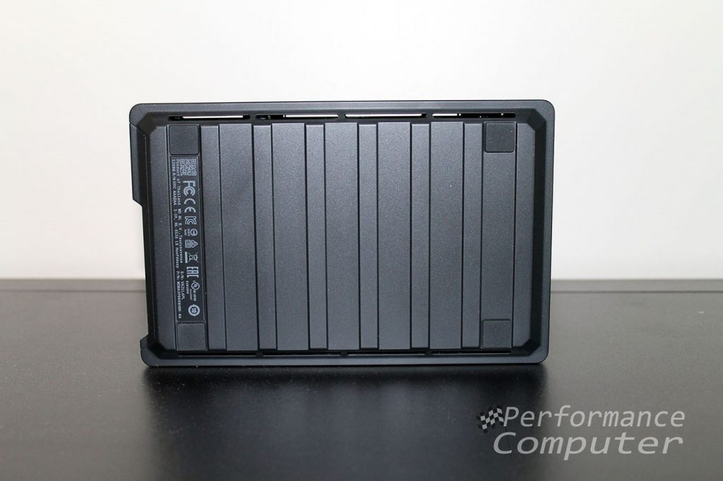 wd black d10 game drive back