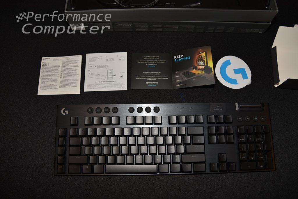 logitech g915 wireless keyboard review