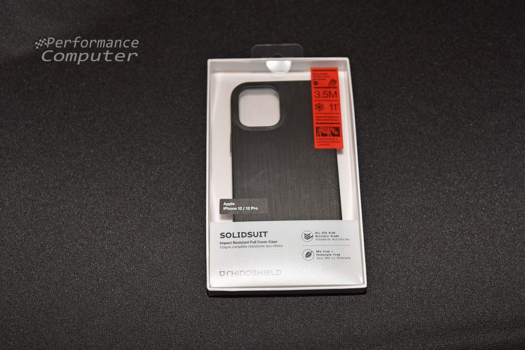 rhinoshield solidsuit iphone 12 pro case box front