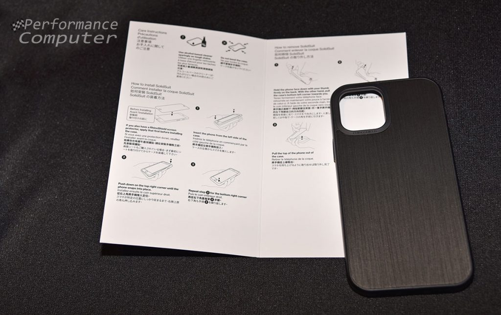 rhinoshield solidsuit iphone 12 pro case instructions