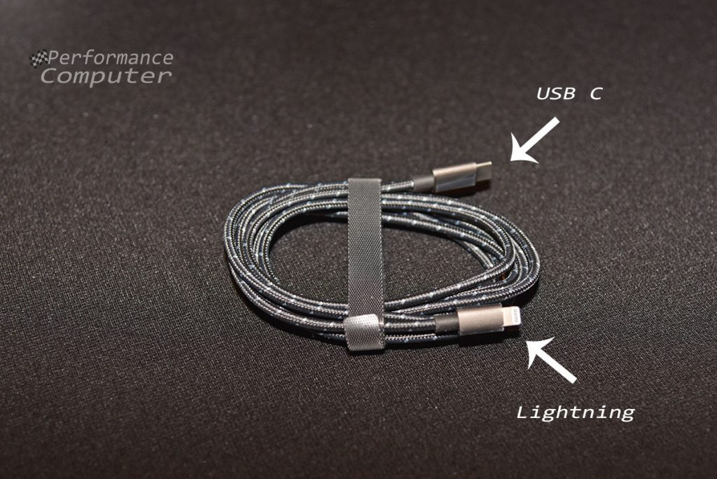 rhinoshield braided lightning to usb c cable 2m review