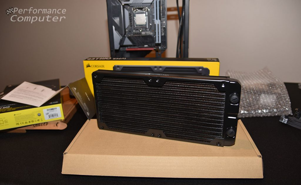 corsair hydro x series xr5 280mm radiator